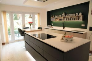 Open Plan Island Kitchen | Hadley Kitchens