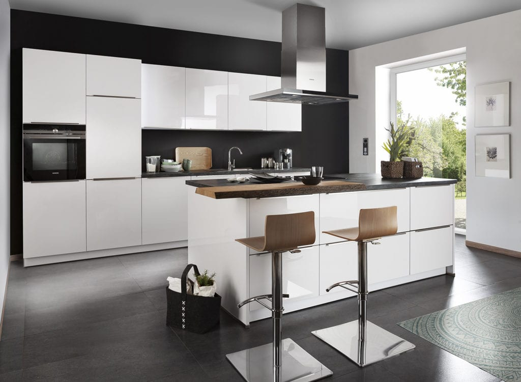 White Gloss - Hadley Kitchens, Leamington Spa