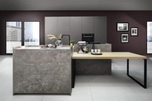 Ceramic & Stone Kitchens | John Willox Kitchen Design