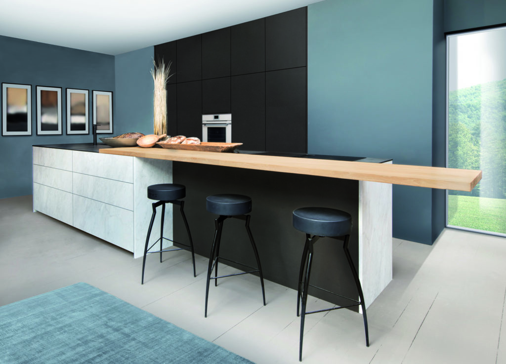 Rotpunkt Stone Look Marble White 2 - Kitchen Revolutions, South London