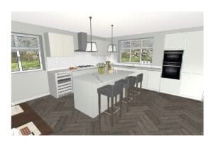 Grandborough Plot 1 Colour Per 1 | Qudaus Living | Modern Kitchens Sutton Coldfield