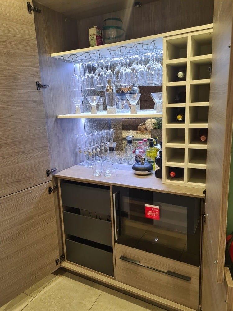 Make Your Own Gin Bar | Qudaus Living | Modern Kitchens Sutton Coldfield