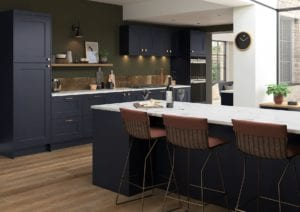 Florence Slate Blue Cameo 1 Rgb | Qudaus Living | Modern Kitchens Sutton Coldfield