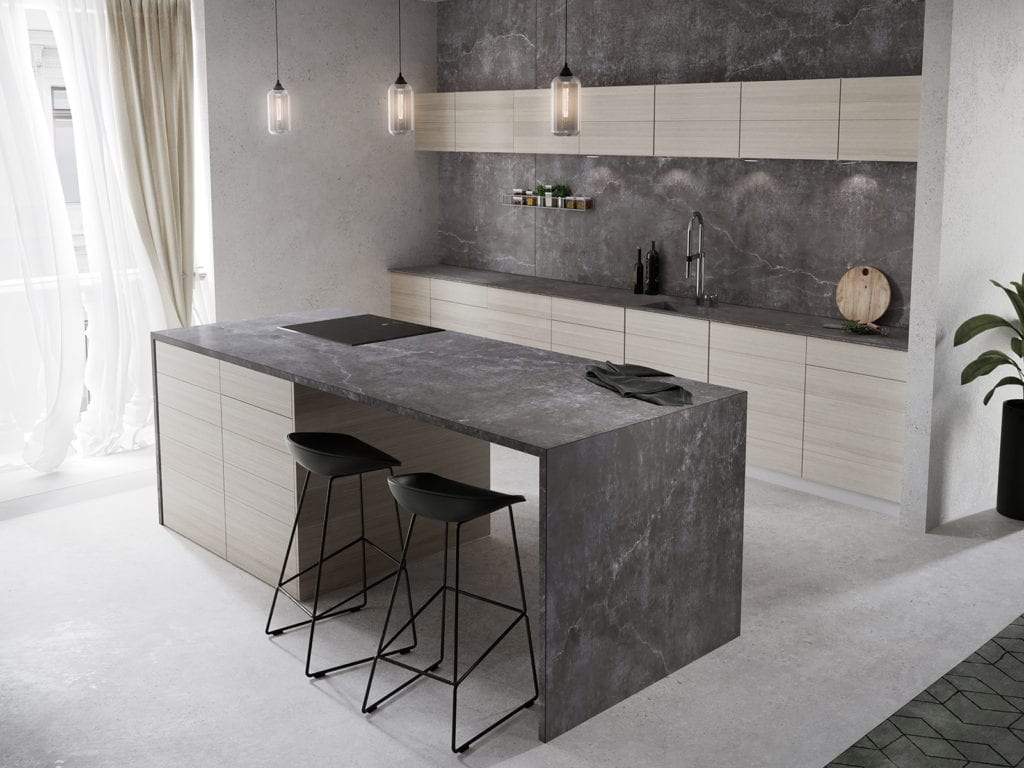 Dekton Kitchen Laos 1600px - Alon Interiors, Larkfield