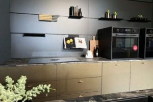 Metallic & Metallic Look Kitchens
