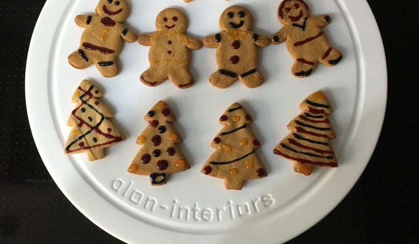 Gingerbread Biscuits - Alon Interiors, Larkfield