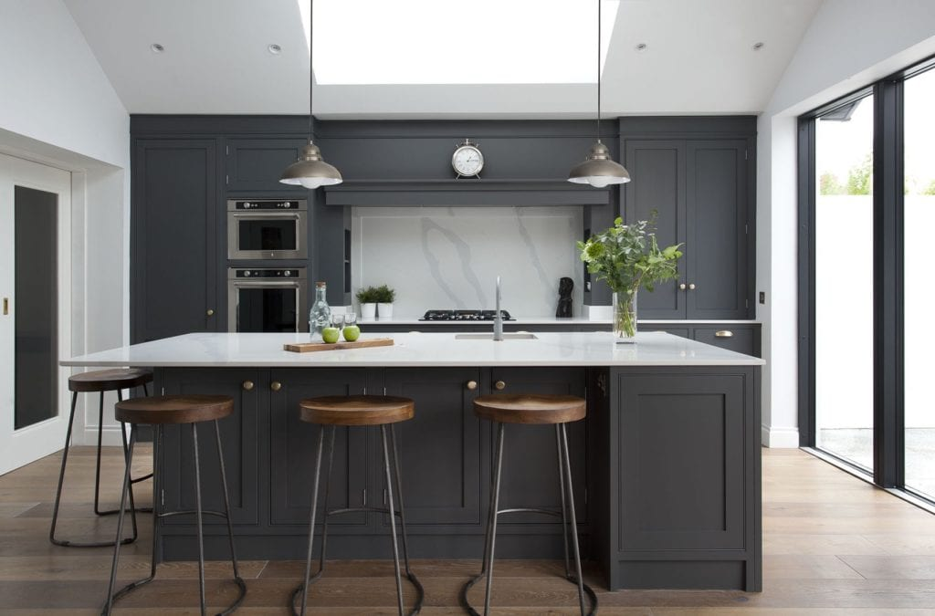 Clontarf Grey Design Yard Kitchen