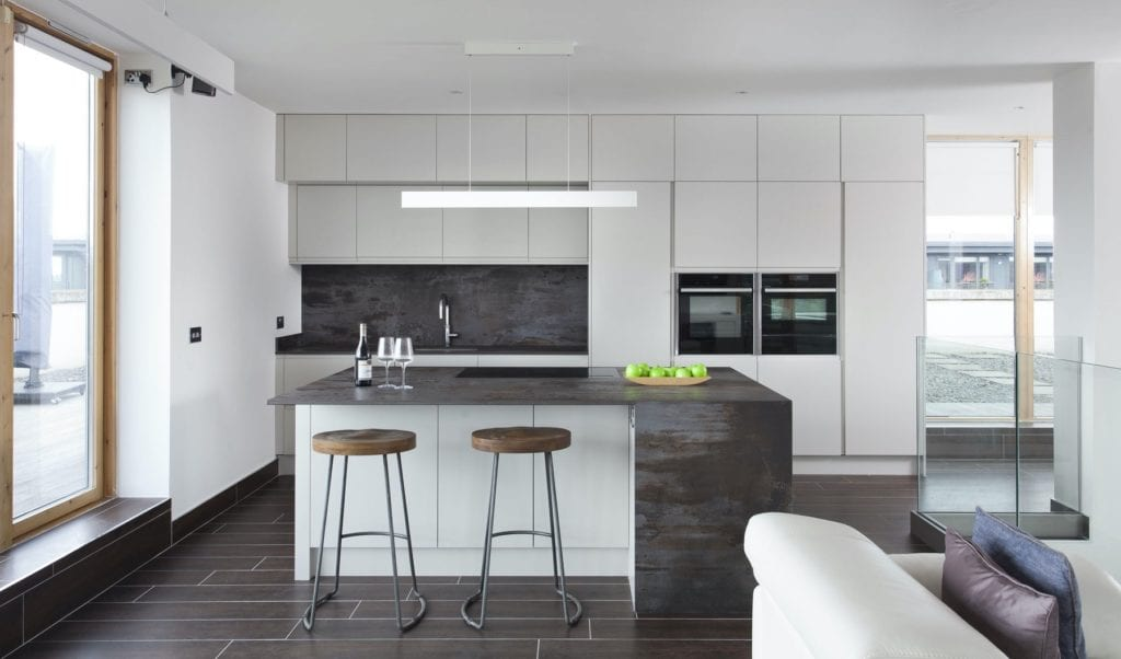 Contemporary Dublin kitchen Design Yard