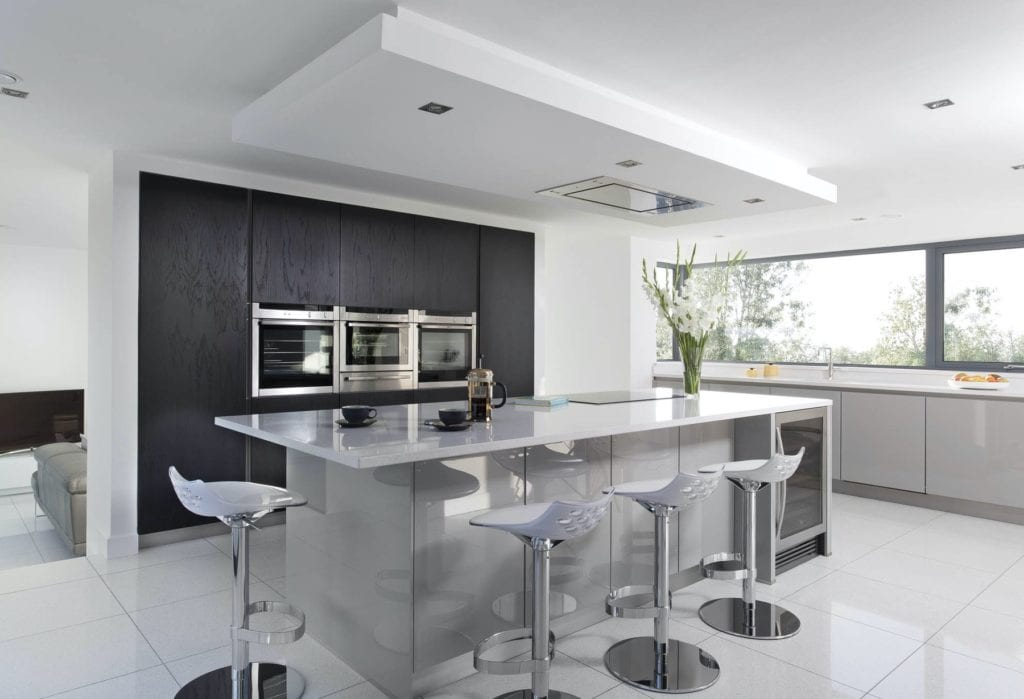 Gilford Contemporary Grey Kitchen