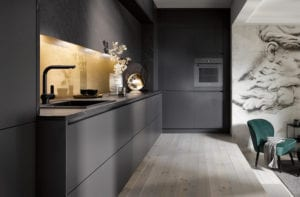 Dark Coloured Kitchens | Swans