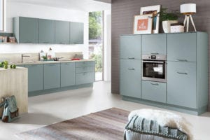 Vibrant Coloured Kitchens | Swans