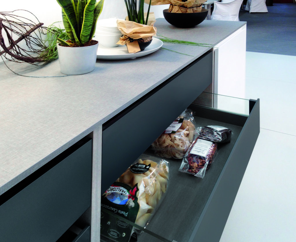 Rotpunkt Glazed Drawer Box | Right Choice Kitchens, Pontypool