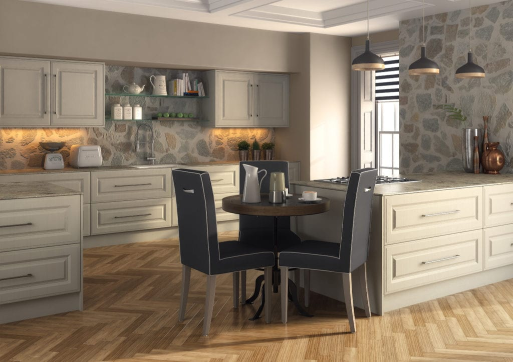 Blossom Avenue Oakgrain Mussel Palermo Kitchen | Right Choice Kitchens, South Wales