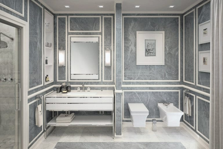 Classic Bathroom Tile | Such Designs, London