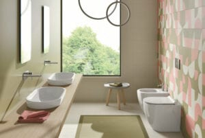 Neutral Bathroom Tiles | Such Designs, London