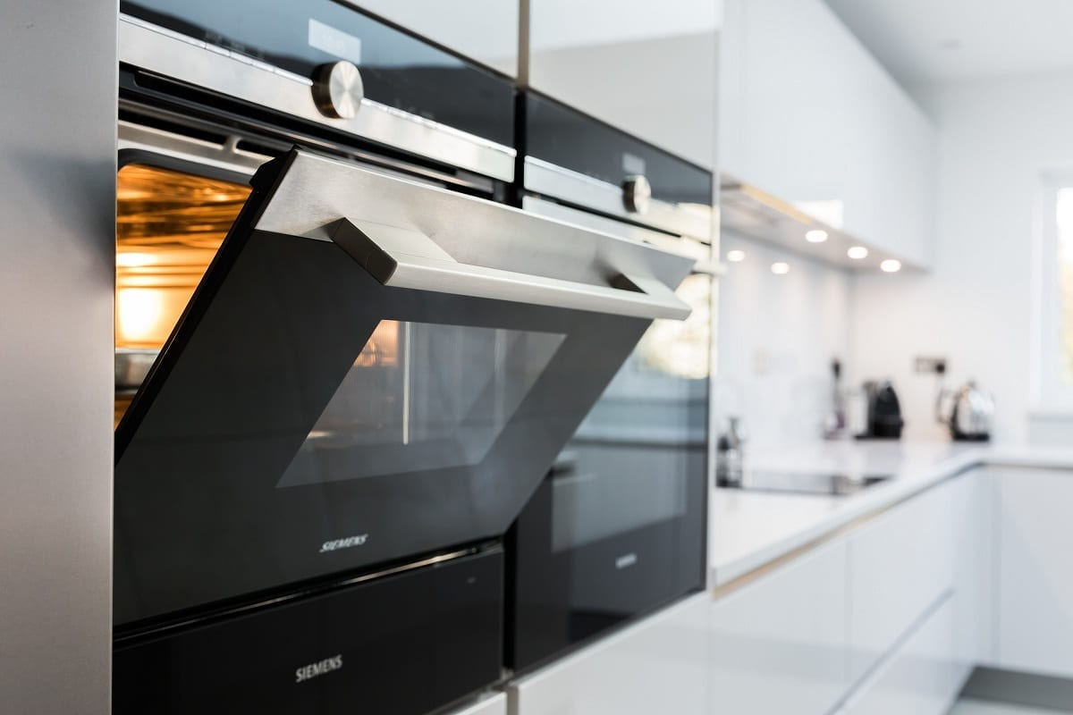 Siemens IQ700 oven and compact steam oven - The Design Yard, Dublin