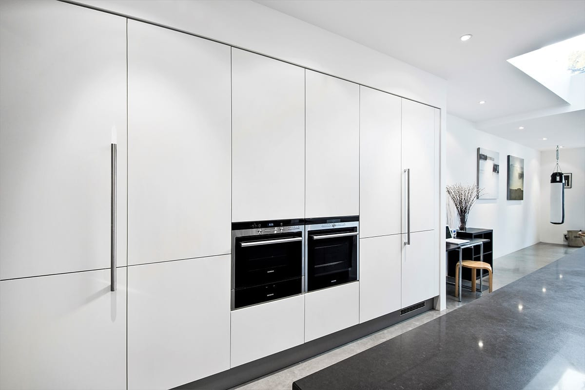 Matt Lacquer Laminate White | Modus Kitchens, London