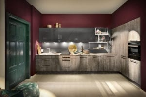 Metallic Kitchens