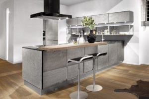 Ceramic, Stone & Concrete Kitchens
