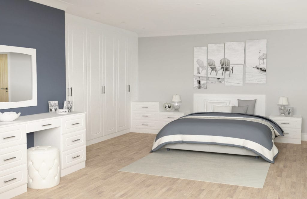 Bedroom Austerhouse Rycote Whiteoak | Unique Bedrooms Direct | Dunstable