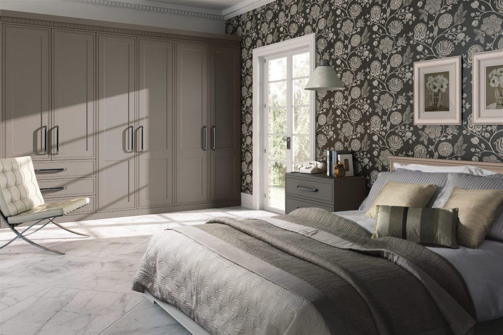 Bella Tullymore Matt Stone Grey | Unique Bedrooms Direct | Dunstable