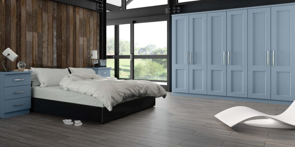 Bedroom Goscote Warsaw Denim | Unique Bedrooms Direct | Dunstable