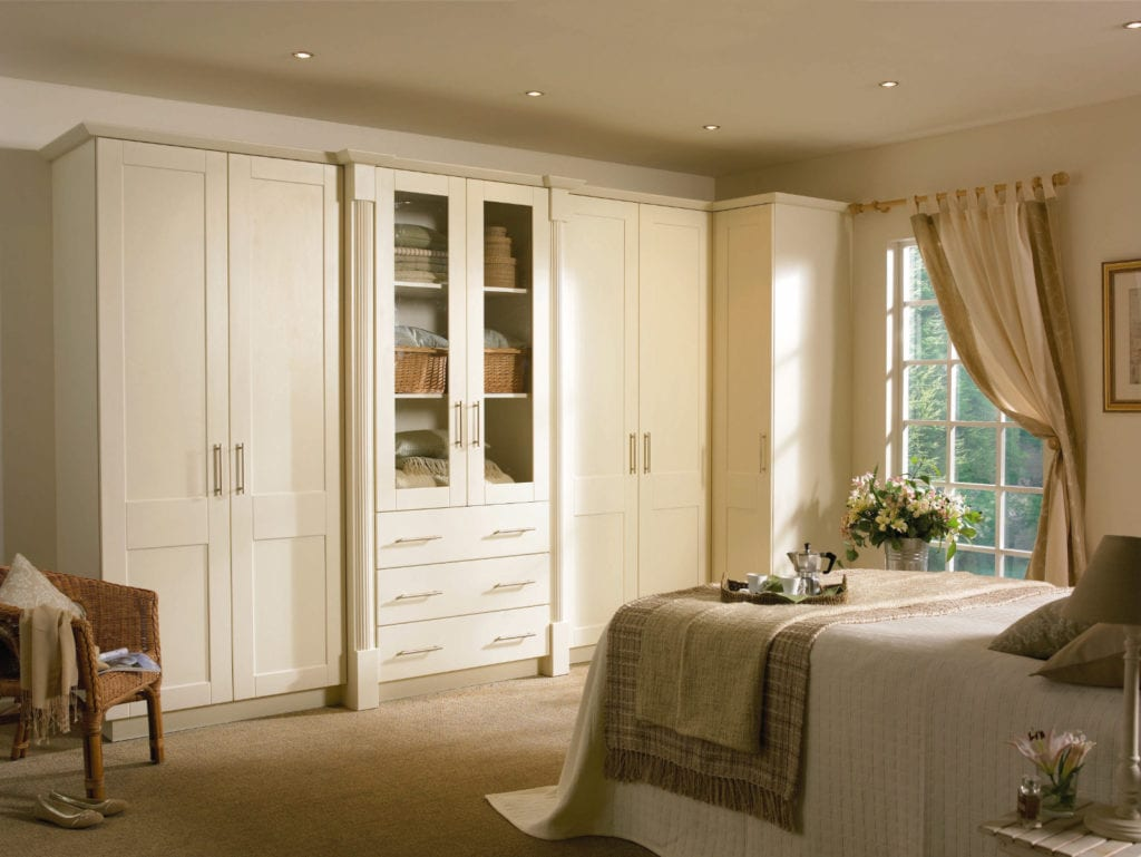 Bedroom Goscote Cologne Ivory | Unique Bedrooms Direct | Dunstable