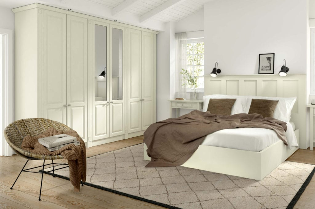 Bedroom Goscote Calcutta Ivory | Unique Bedrooms Direct | Dunstable
