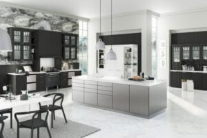 Metallic Kitchens | Alpha Designs, Preston