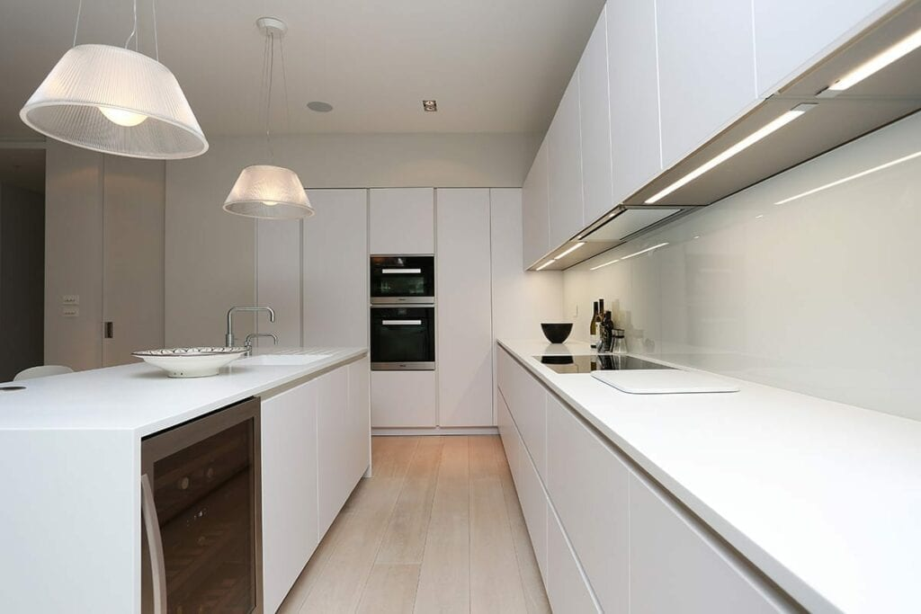 Under Cabinet Strip Led Lighting | Daval Client Site, Wansford