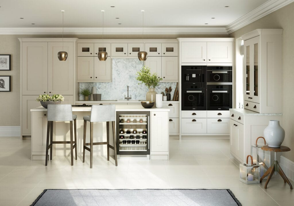 Daval White Shaker Country Kitchen | Daval Furniture, Huddersfield