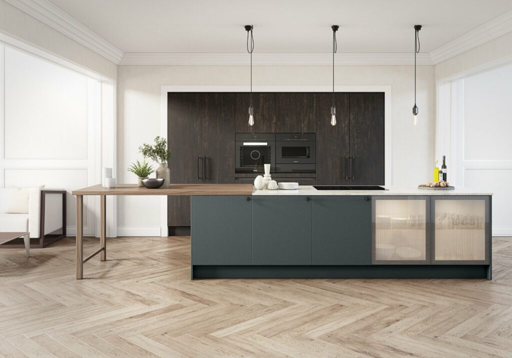 Daval Modern Fitted Kitchen | Daval Furniture