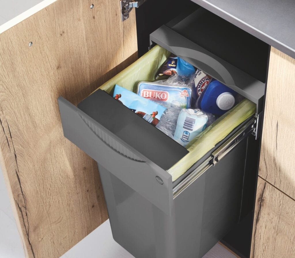 Pull Out Bin | Colour House Interiors, Caterham