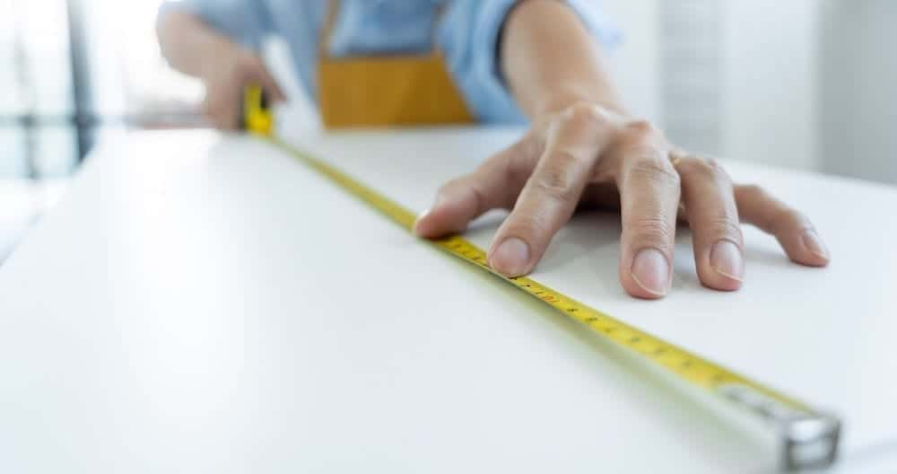 Measuring A Kitchen | Lead Wolf Client Site, Wansford